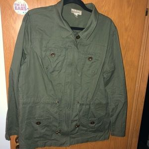 Olive color jacket